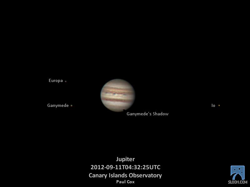 Jupiter After 2012 Impact: Slooh