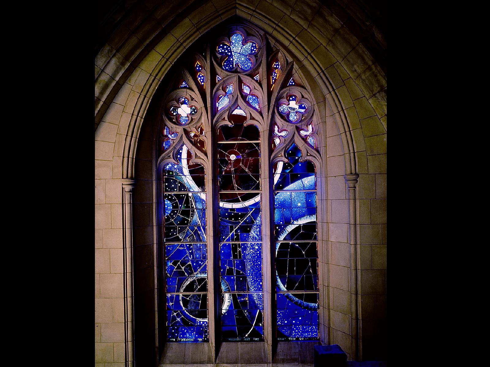 The Space Window at National Cathedral