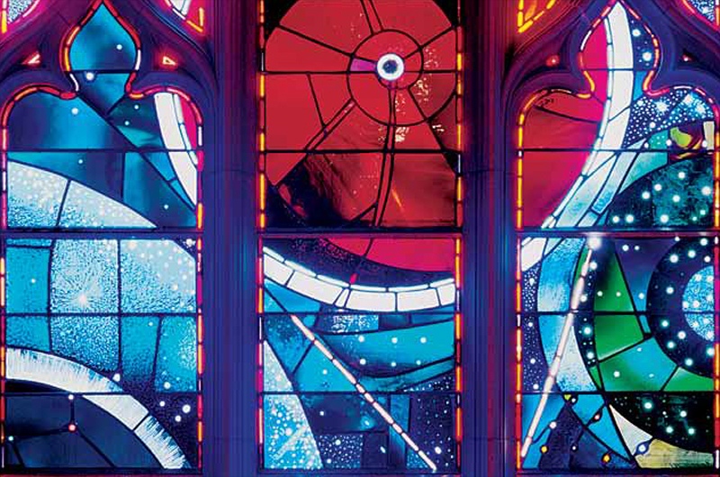 Space Window at National Cathedral