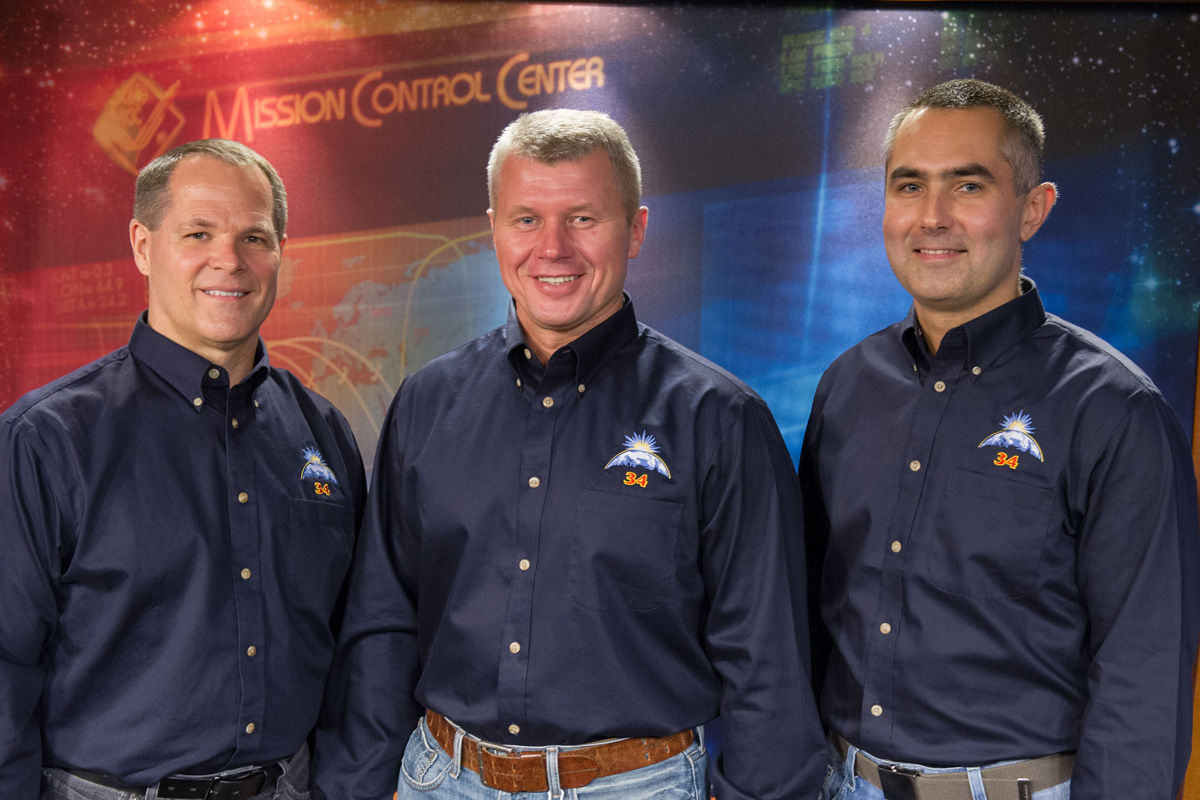 Expedition 33/34 Crew Members