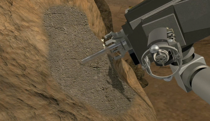 Drill Issue Could Threaten Mars Rover Curiosity's Mission