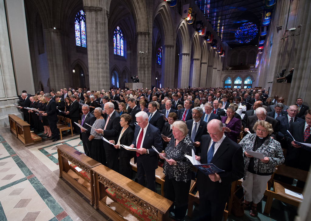 Celebrating Neil Armstrong: Memorial Service at National Cathedral (Photos)