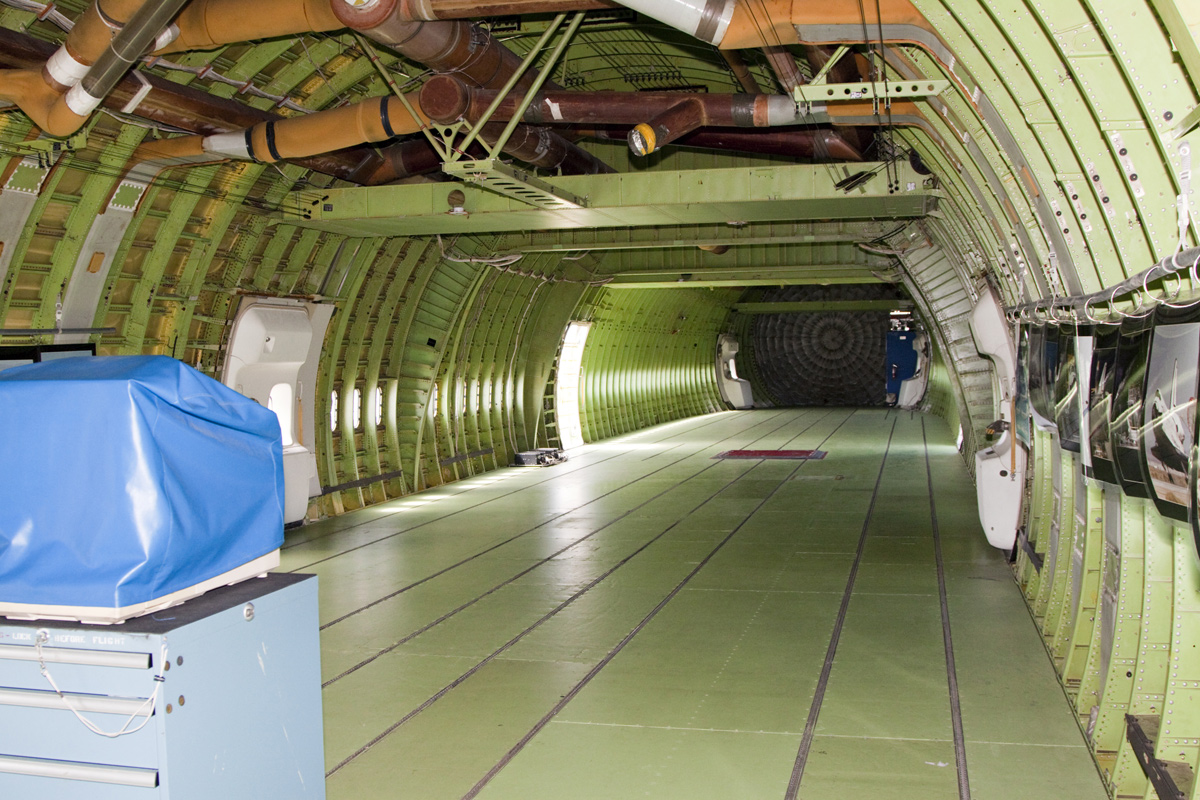 Shuttle Carrier Aircraft Aft Section