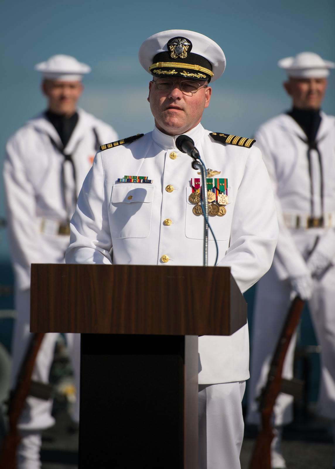 Neil Armstrong Buried at Sea: Chaplain