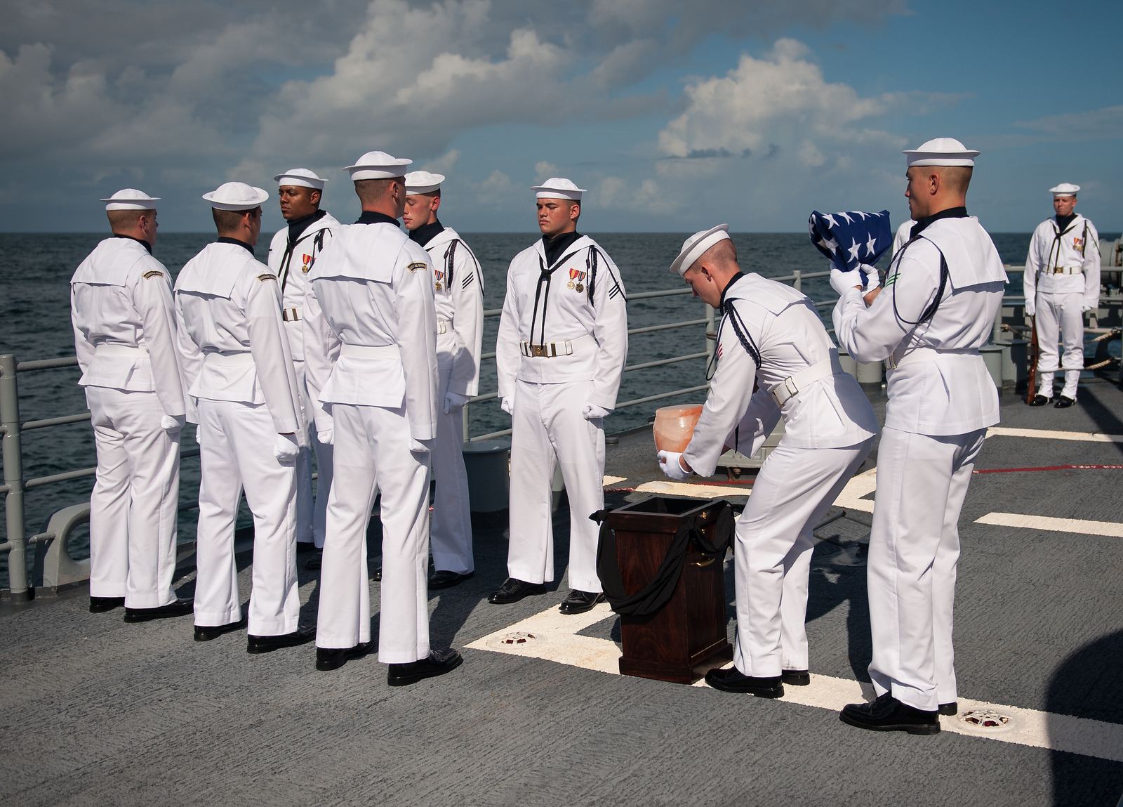 Neil Armstrong Buried at Sea: Farewell