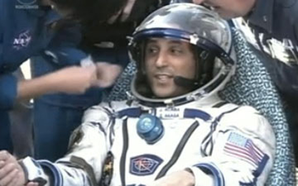 Expedition 32 Landing: Joe Acaba
