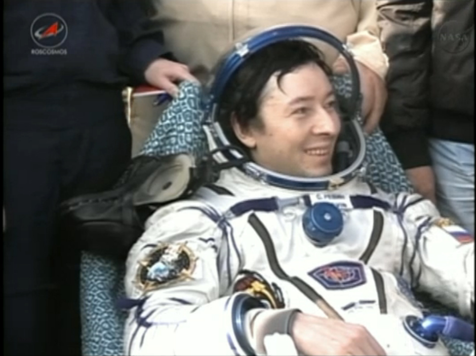 Expedition 32 Landing: Sergei Revin
