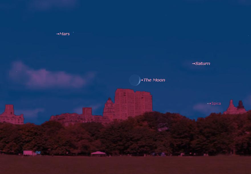 See Saturn Before It Leaves Night Sky This Week