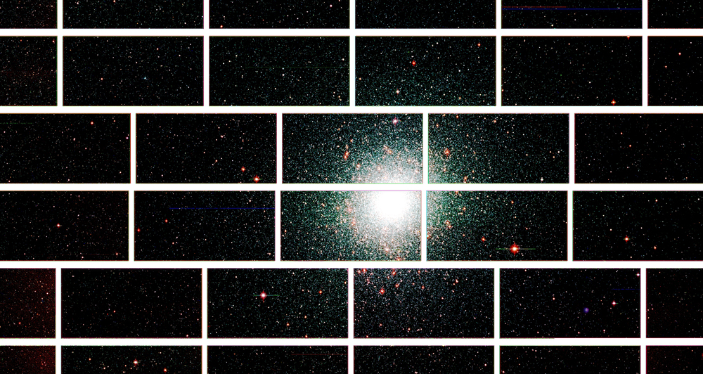 New Dark Energy Telescope Snaps First Cosmic Photos