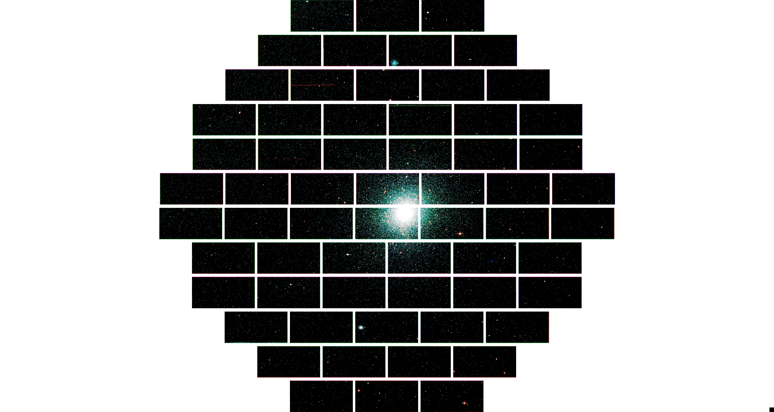 Globular Star Cluster 47 Tucanae