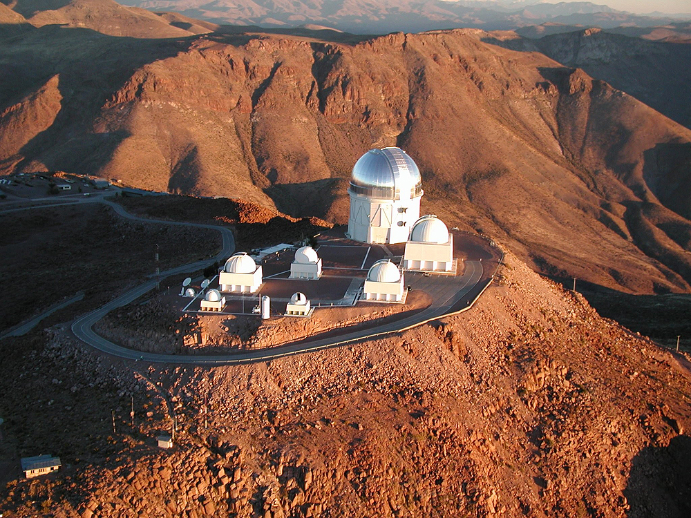 Blanco Telescope in Chile