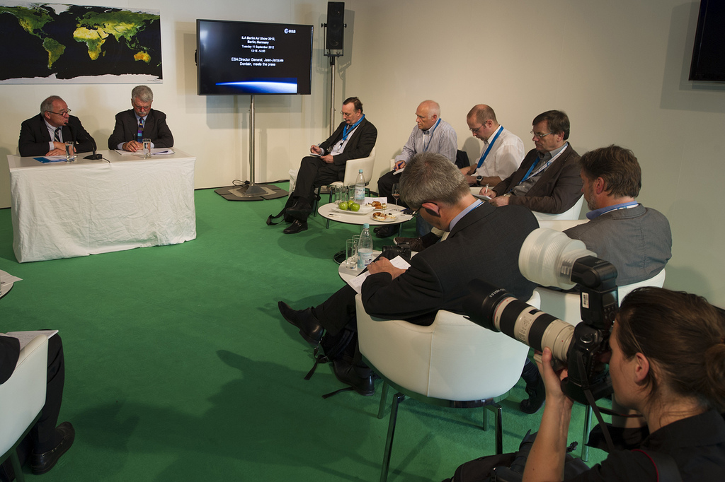 ESA Press Meeting