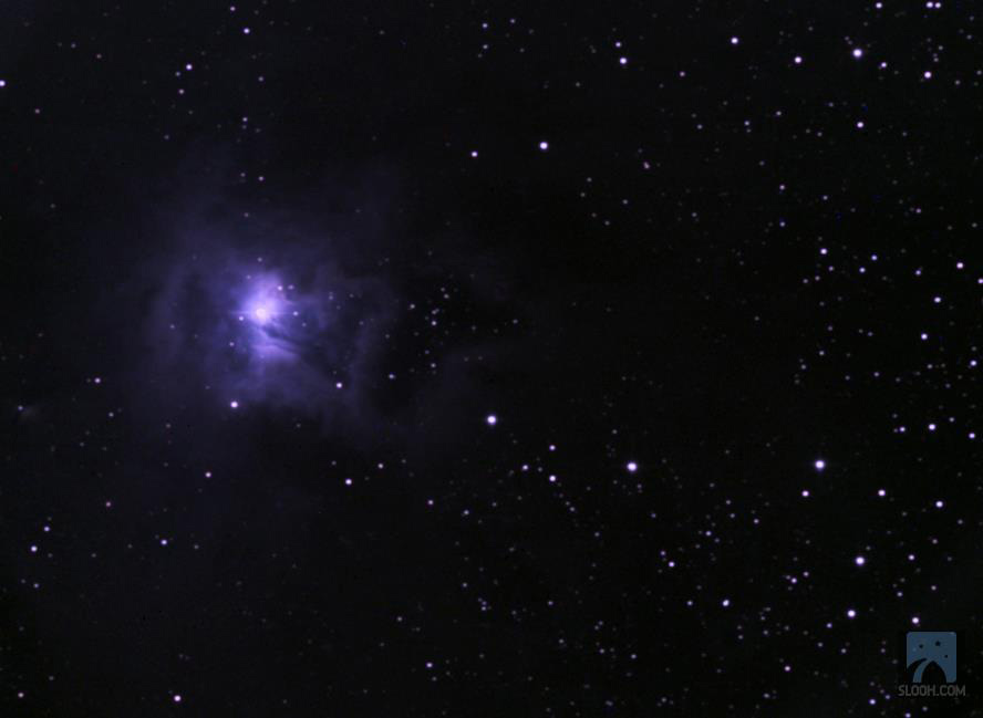 Iris Nebula, Slooh Space Camera