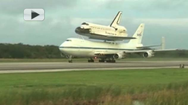 Endeavour's Final Take-Off: California Bound