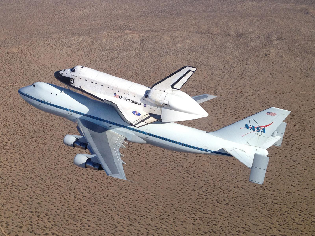 Shuttle Endeavour's Final California Tour