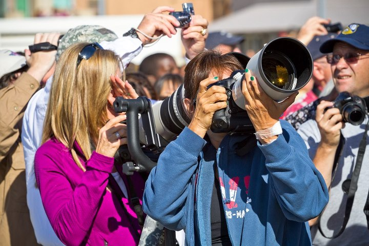 Shuttle Endeavour Over Sacramento: Photographers