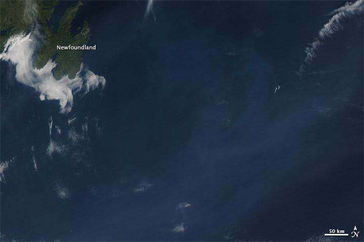 Image: Northwest Wildfire Smoke Reaches Atlantic