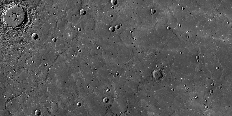 Wrinkle Ridges on Mercury
