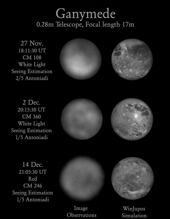 Jupiter's Big Moon Ganymede Mapped by Amateur Astronomer