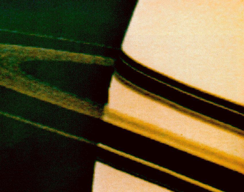 Saturn by Pioneer 11
