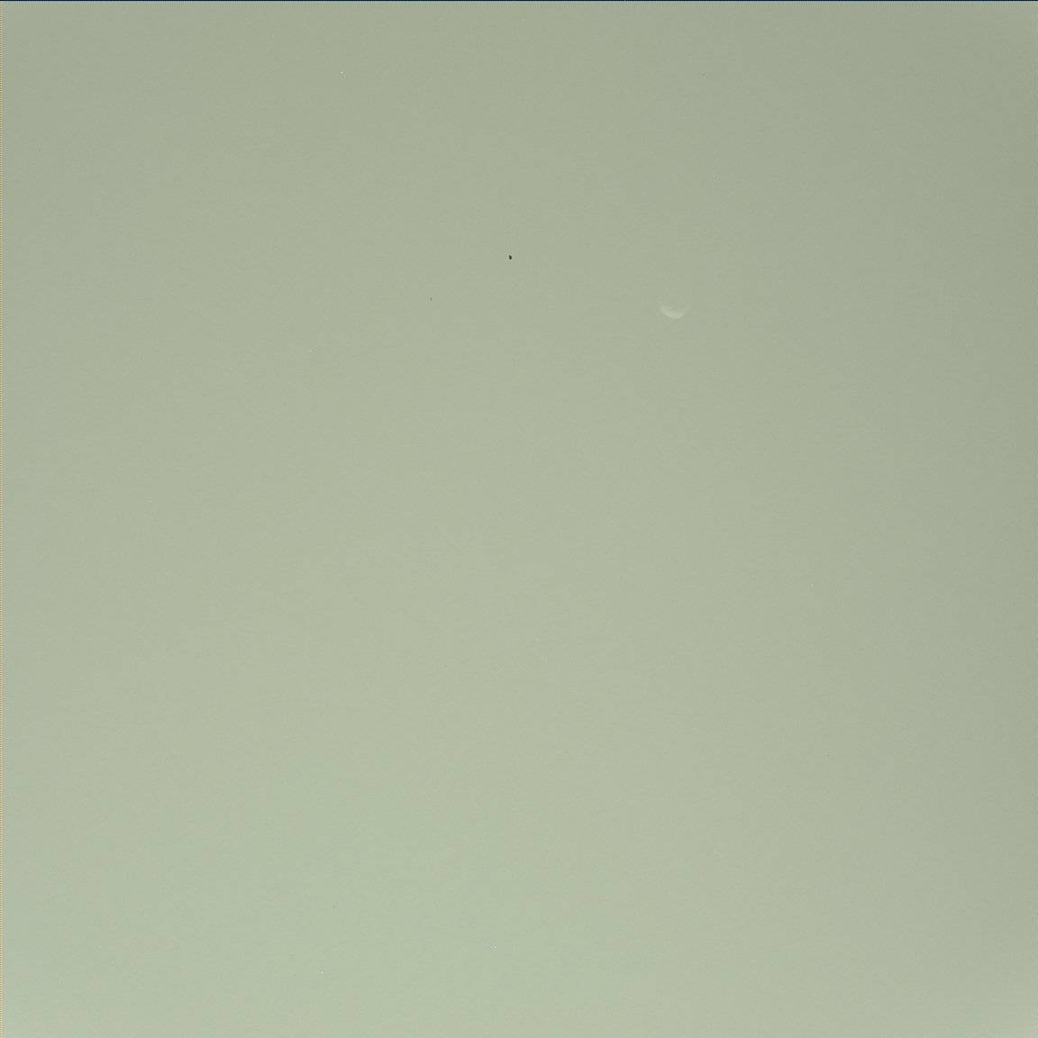 Martian Moon Phobos Seen by Curiosity Rover