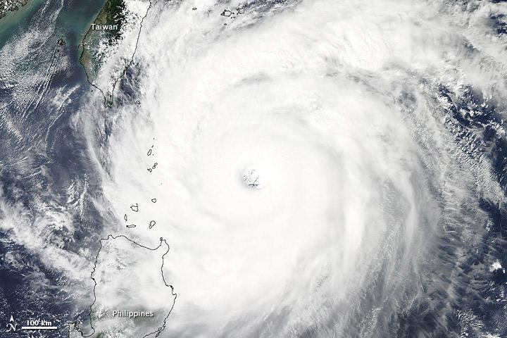 Satellite Spies Super Typhoon Jelawat