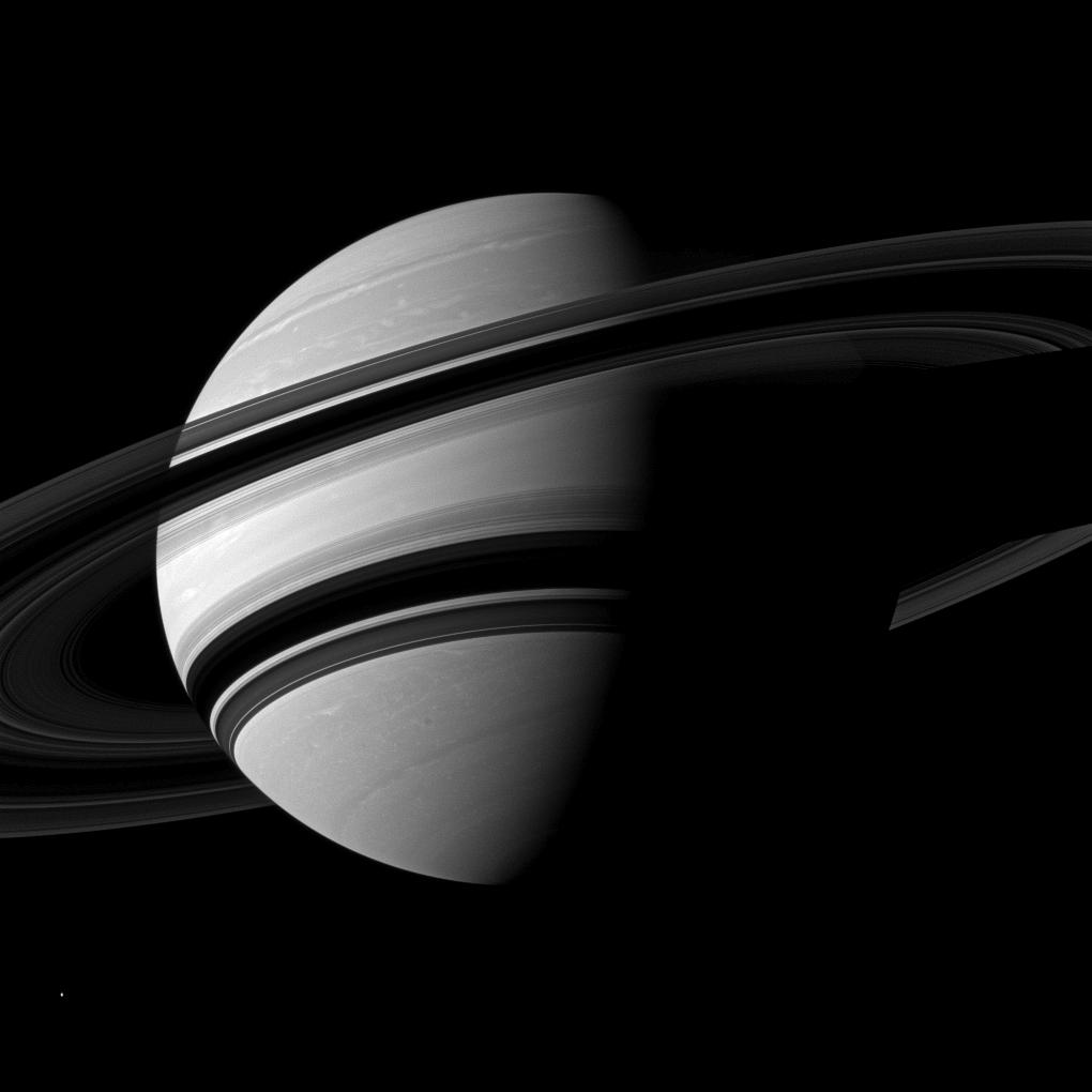 NASA's Cassini Probe at Saturn Celebrates 15 Years in Space