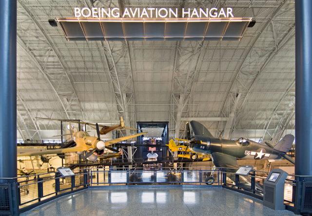 Boeing Aviation Hangar Entrance