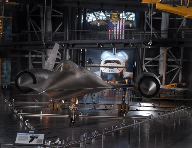 Two Amazing Flying Machines: Lockheed SR-71 and Space Shuttle Enterprise
