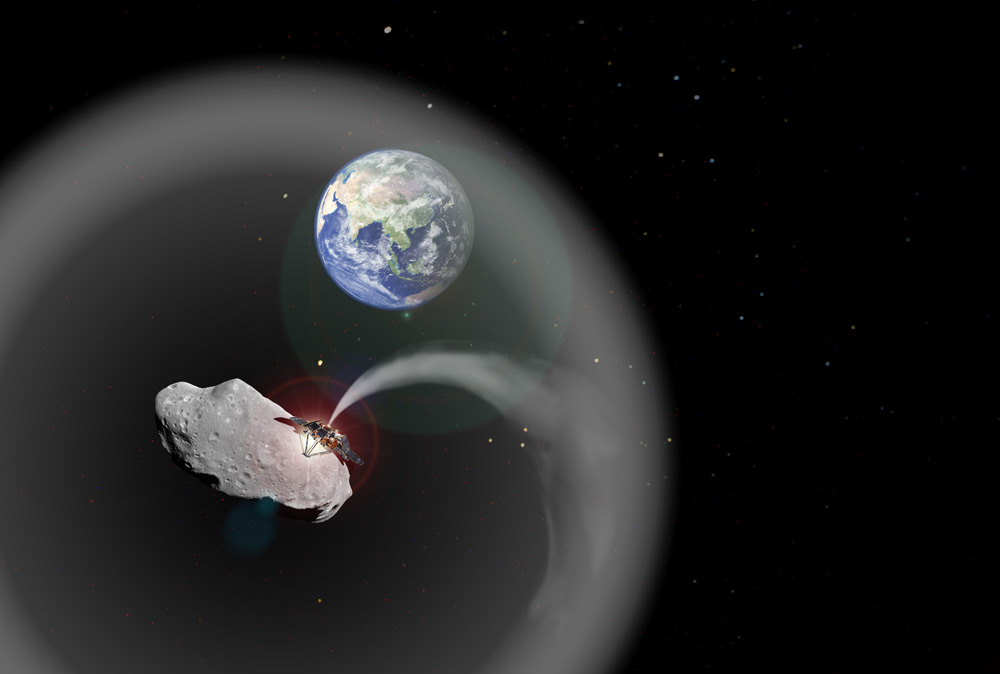 Asteroid Dust Could Fight Climate Change on Earth