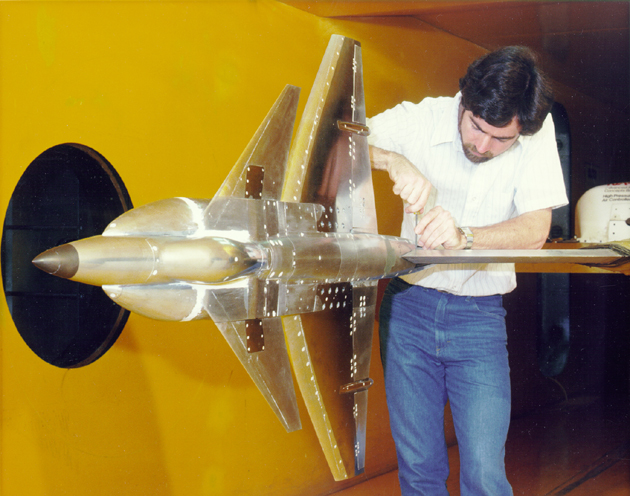 Space History Photo: VSTOL in the 9 x 7 Foot Wind Tunnel