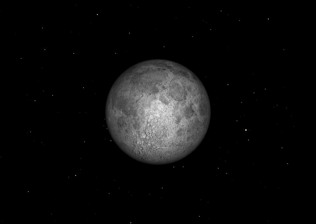 October 2012 Full Moon