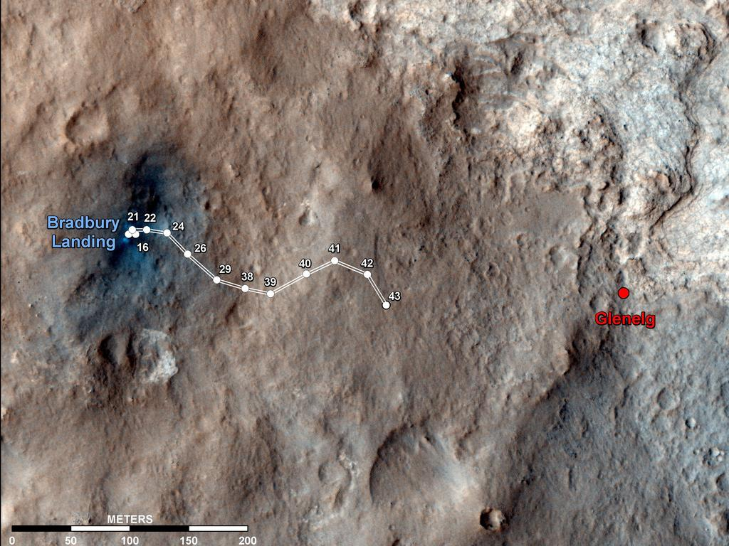 Mars Rover Curiosity 'Checks In' on Foursquare from Red Planet