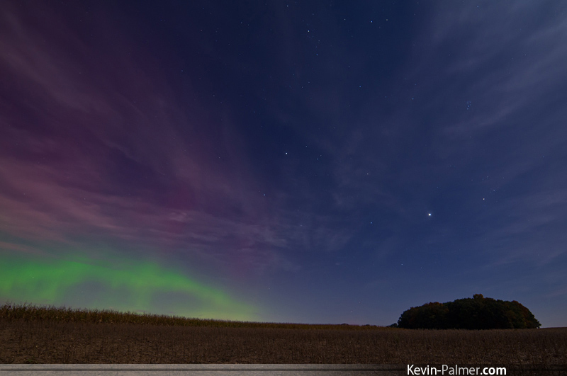 Aurora Photographed by Kevin Palmer
