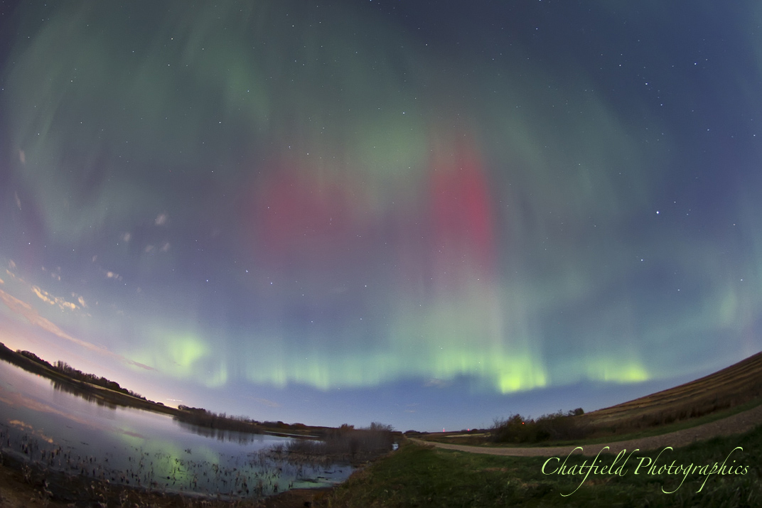 October 2012 Aurora Over Saskatoon