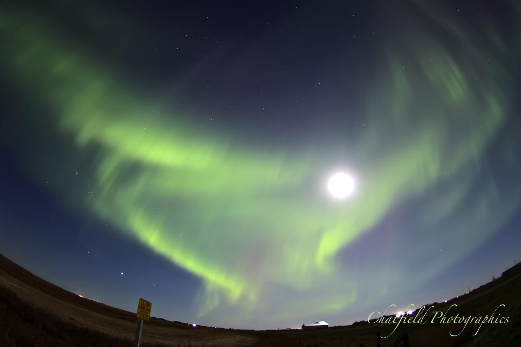 October 2012 Aurora Over Saskatoon #2