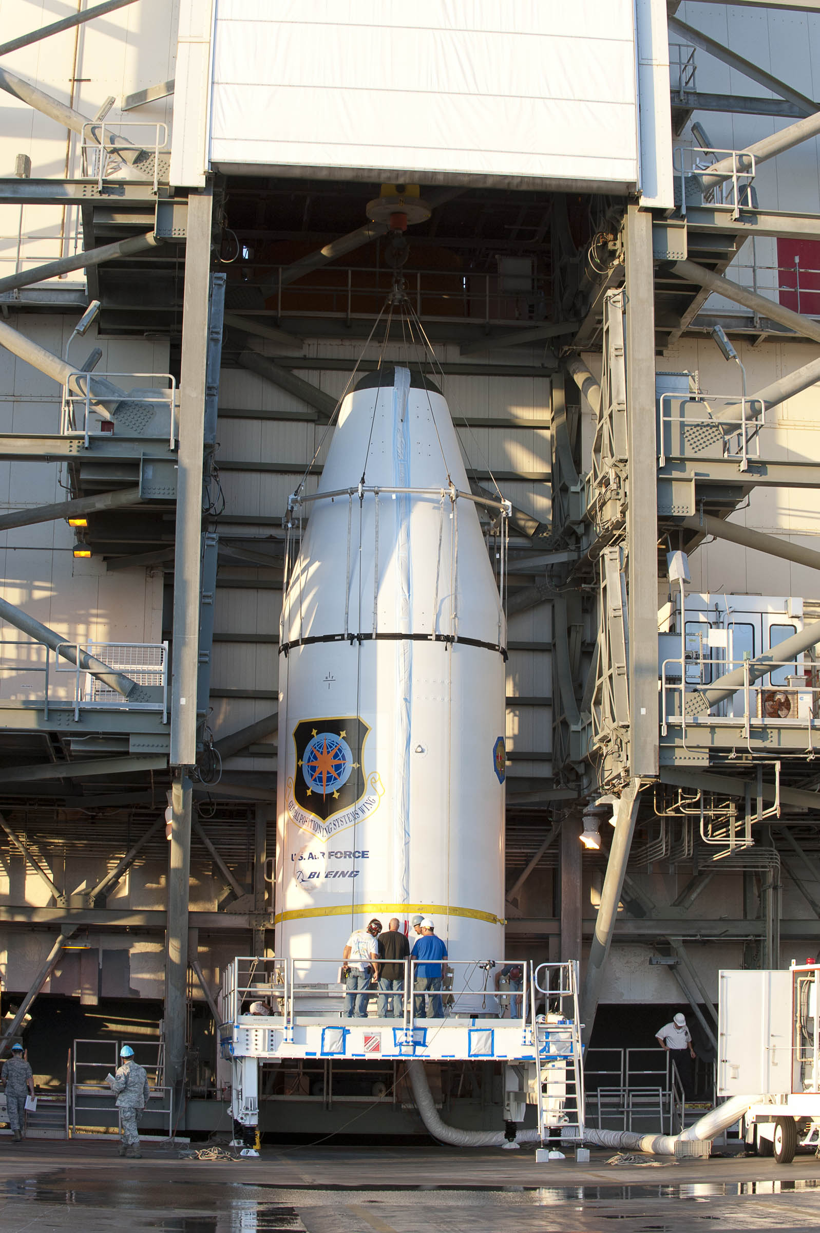 Delta 4 GPS IIF-3 Pre-Launch Mated to Delta 4