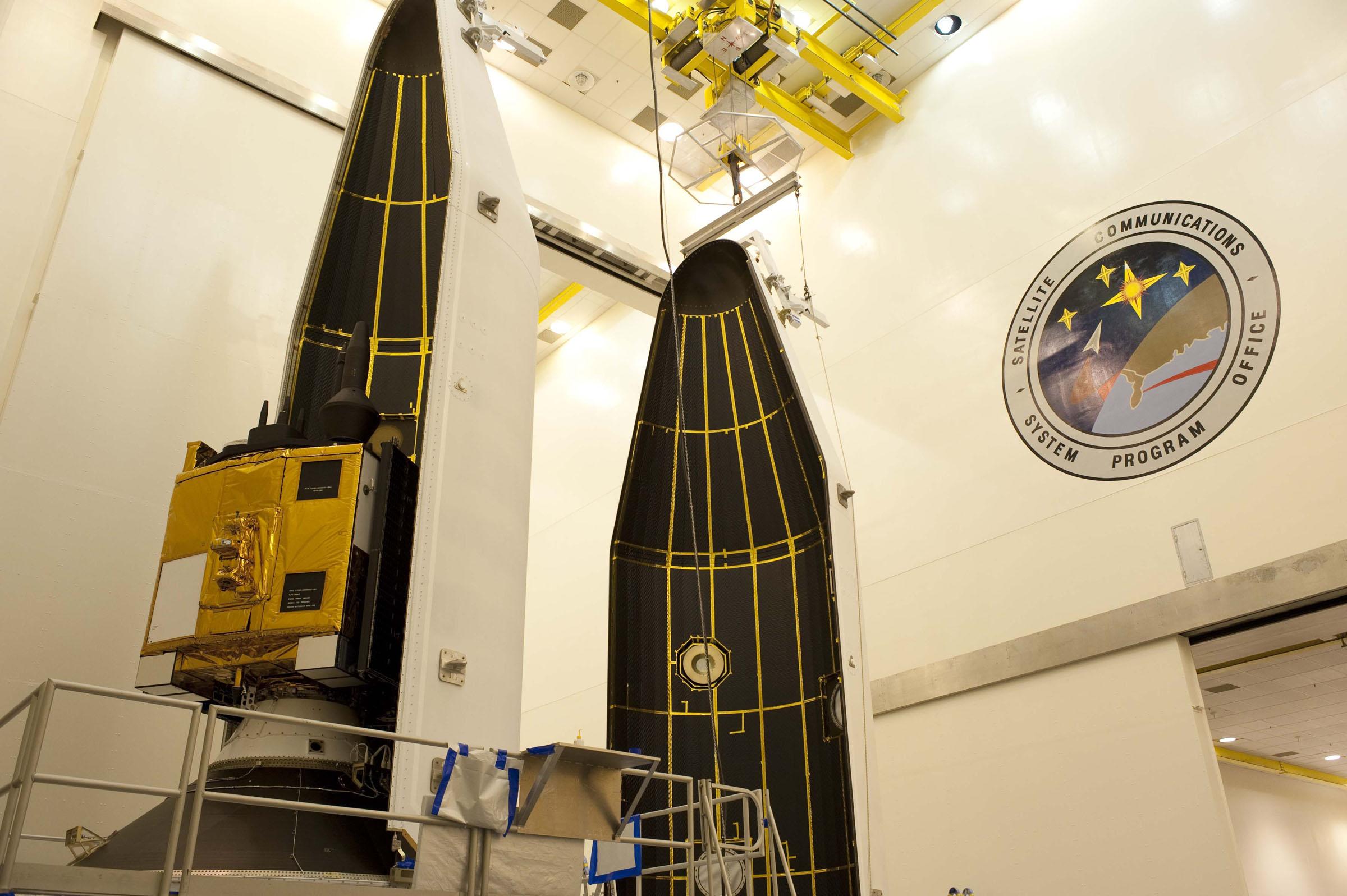 GPS IIF-3 Satellite Closeup