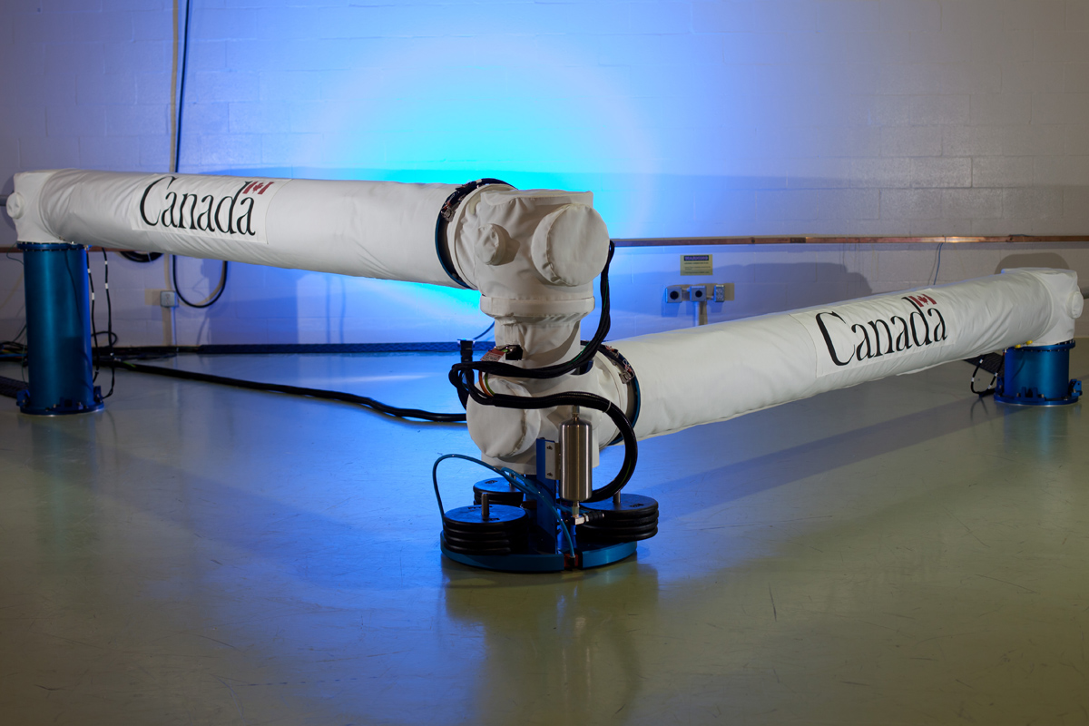 Canada Unveils Next-Generation Robotic Arms for Spaceships