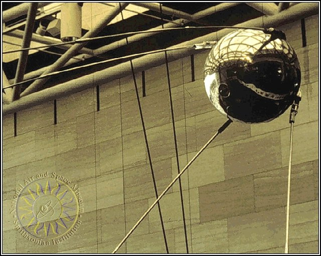 Sputnik 1 Replica in the National Air & Space Museum