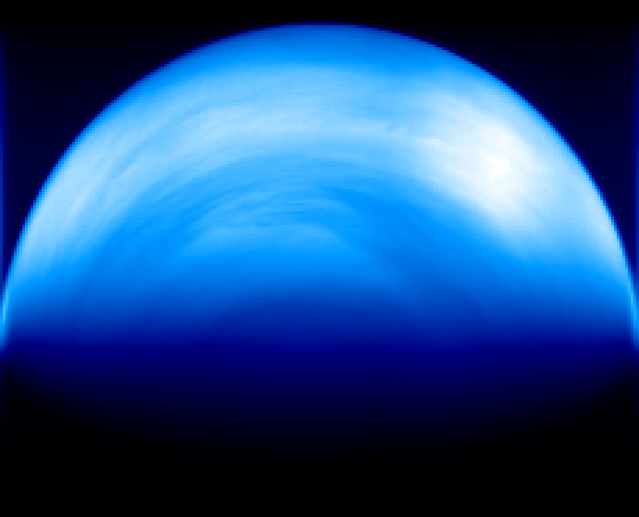 Atmospheric Stripe-like Features at Venus