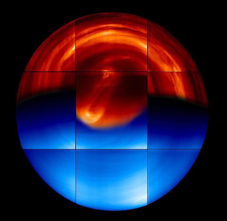 Venus, Southern Hemisphere