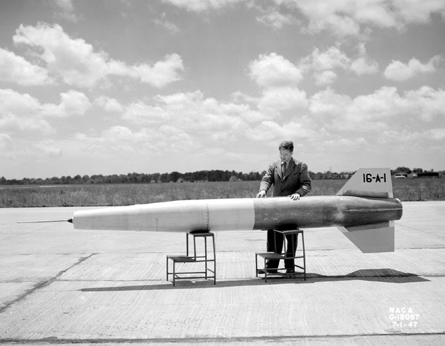 Space History Photo: Ramjet Missile