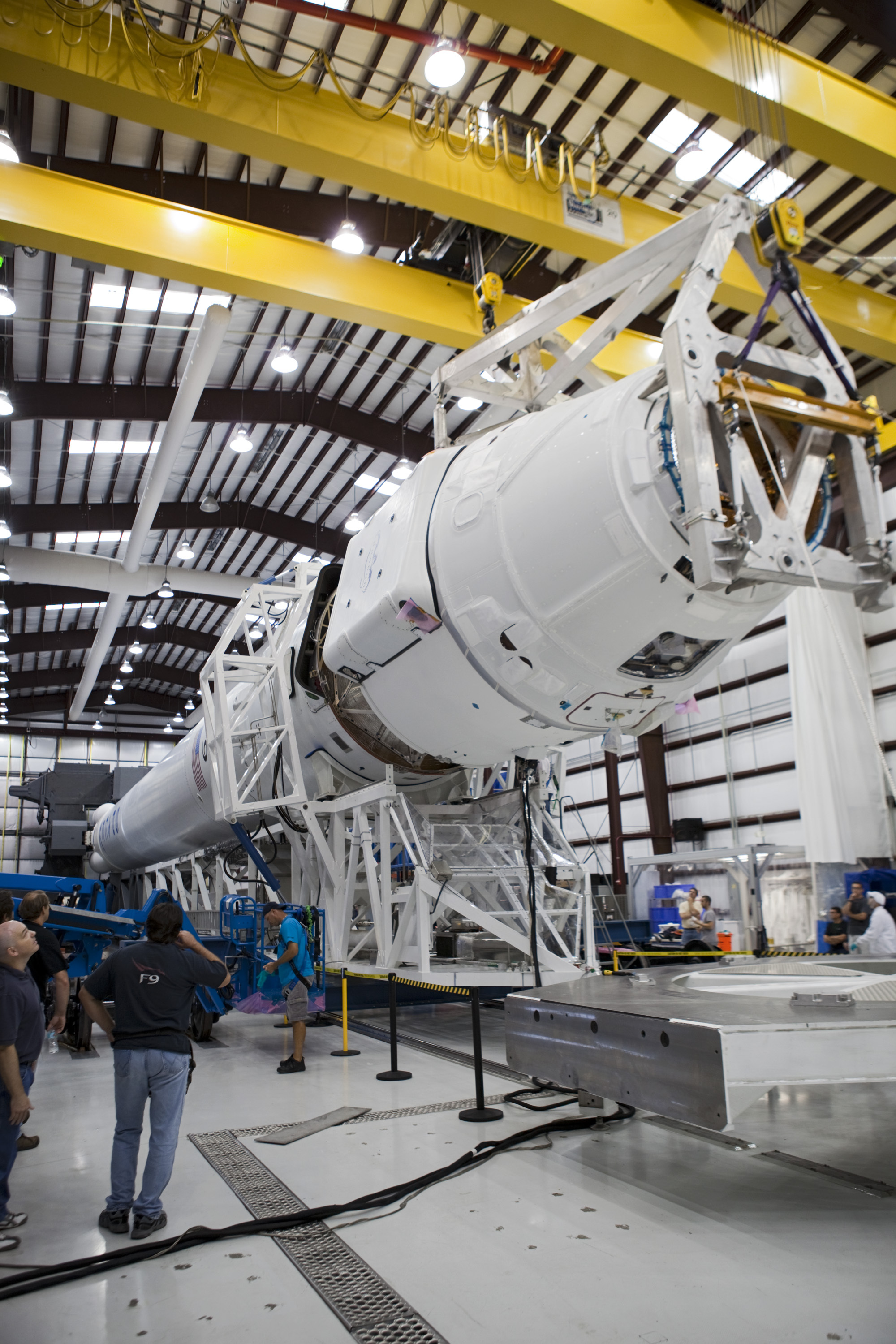 SpaceX Dragon Meets Falcon 9