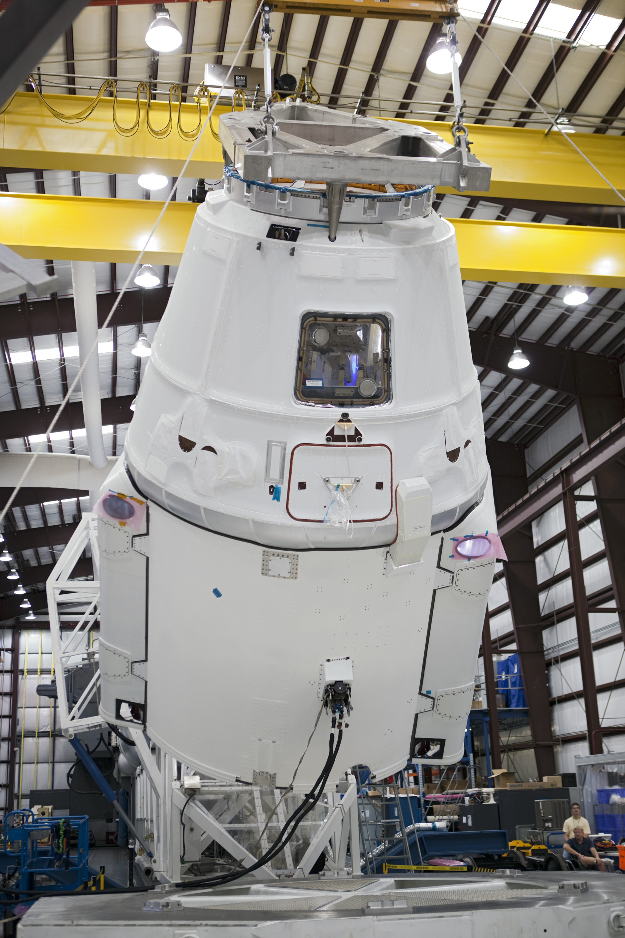 Dragon Spacecraft and Falcon 9