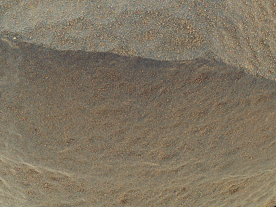 'Bathurst Inlet' Rock on Curiosity's Sol 54, Close-Up View