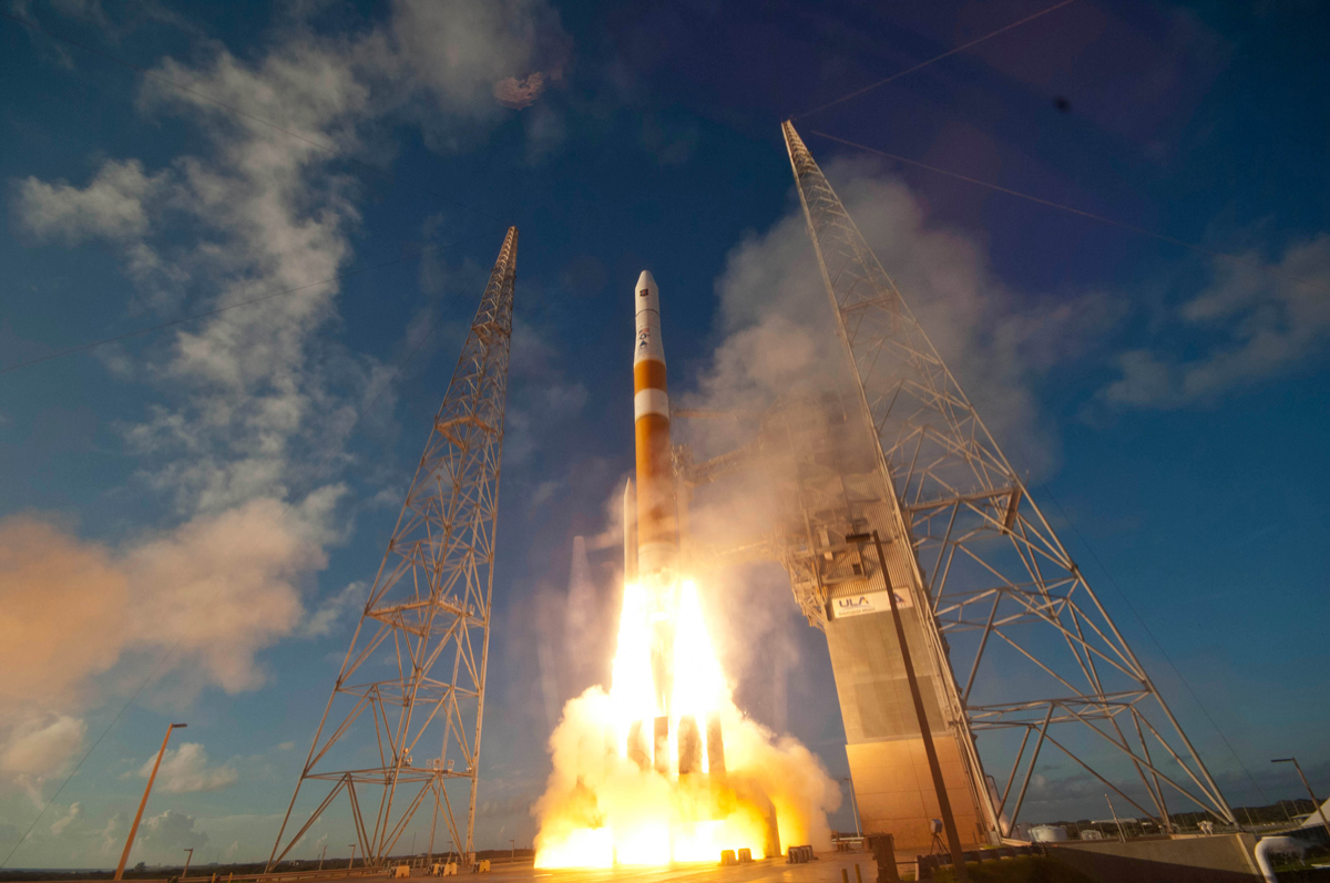 US Air Force Launches New GPS Navigation Satellite