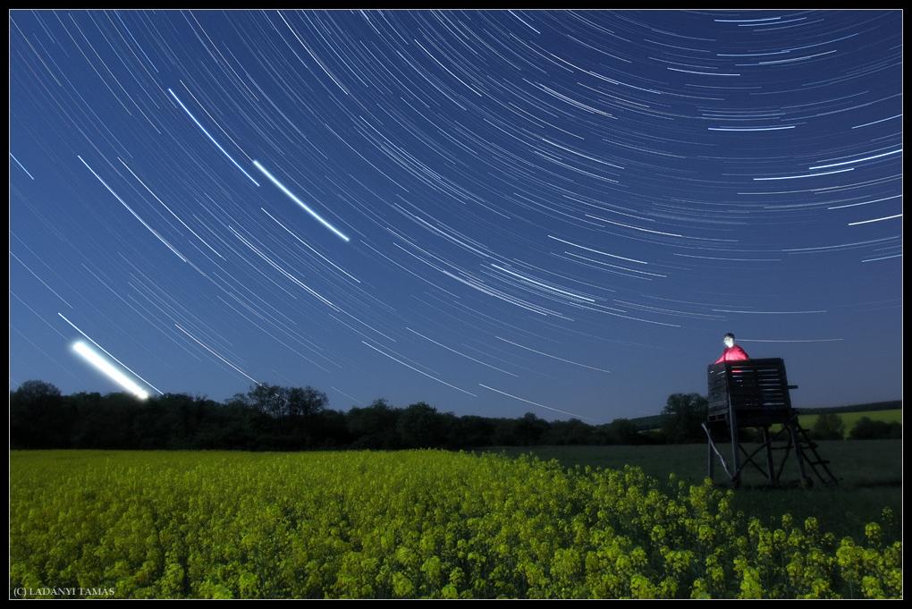 Supermoon Hungary Ladanyi NIght Sky Photo