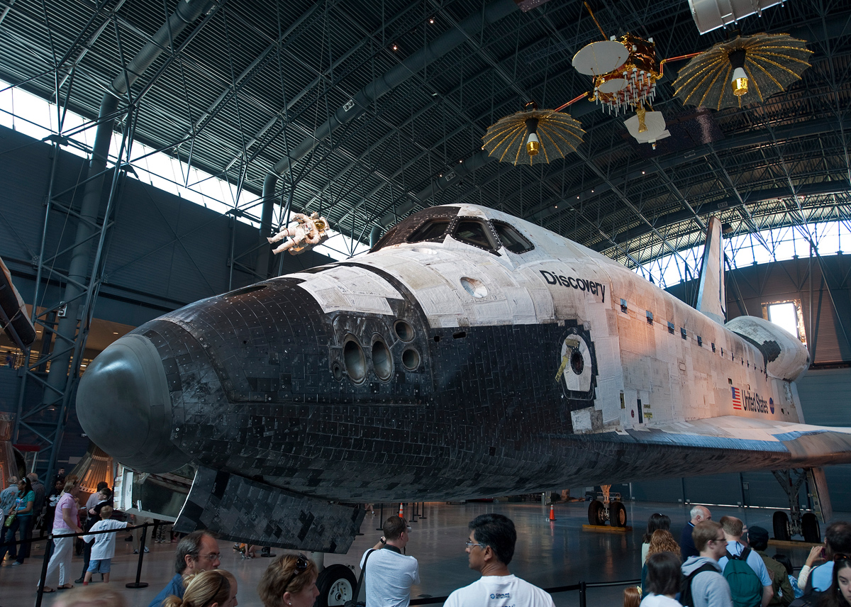 Discovery: National Air and Space Museum, Steven F. Udvar-Hazy Center, Chantilly, Va.