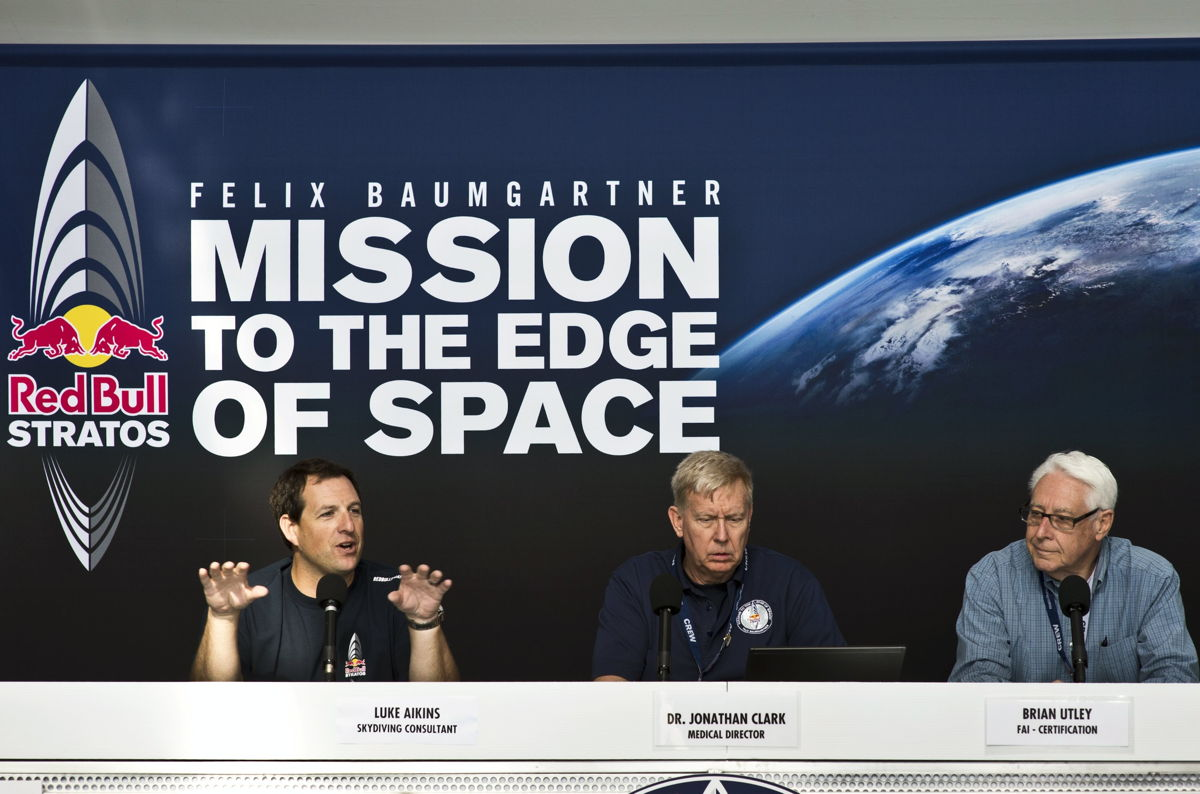 Red Bull Stratos Press Conference